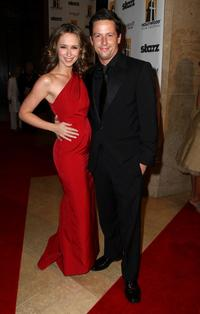 Jennifer Love Hewitt and Ross McCall at the Hollywood Film Festival's Gala Ceremony.