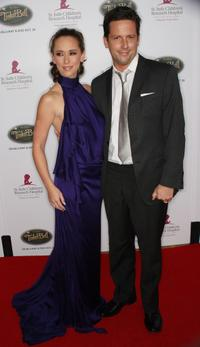 Jennifer Love Hewitt and Ross McCall at the Fifth Annual Runway For Life Gala.