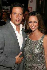Ross McCall and Jennifer Love Hewitt at the TV Guide's Sexiest Stars Party.