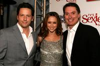 Ross McCall, Jennifer Love Hewitt and Scott Crystal at the TV Guide's Sexiest Stars Party.