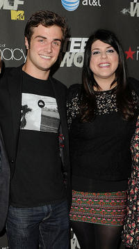 Beau Mirchoff and Molly Tarlov at the California premiere of