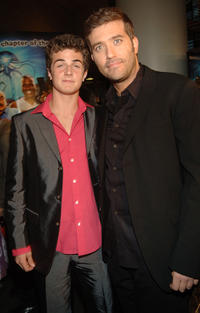 Beau Mirchoff and Craig Bierko at the New York premiere of