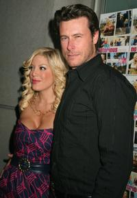 Tori Spelling and Dean McDermott at the promotion of