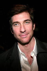 Dylan McDermott at the Marc Jacobs Fall 2004 fashion show during Olympus Fashion Week.
