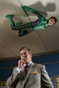 Drake Bell and Christopher McDonald in