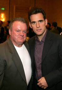 Jack McGee and Matt Dillon at the AFI Awards Luncheon 2005.
