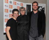Connor Paolo, Kelly McGillis and director Jim Mickle at the New York premiere of