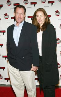 John C. McGinley and guest at the Comedy Central's First Ever Awards Show