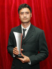 Taika Waititi at the Qantas New Zealand Television Awards.
