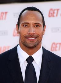 Dwayne Johnson at the World premiere of