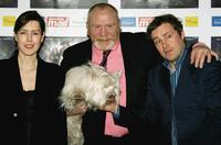 Gina McKee, James Cosmo and Ardal O'Hanlon at the UK Gala premiere of