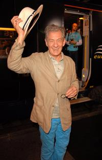 Sir Ian McKellen at the 59th International Cannes Film Festival for promoting the film