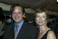 Mark McKinney and Susan Coyne at the screening of
