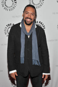 Felix Solis at the New York premiere of