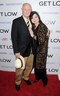 Gerald McRaney and Delta Burke at the California premiere of