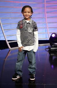 Jaden Smith at the taping of