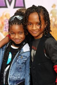 Willow and Jaden Smith at the premiere of