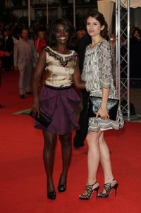 Aissa Maiga and Louise Monot at the screening of