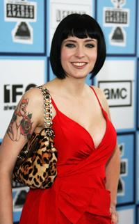 Diablo Cody at the 2008 Film Independent's Spirit Awards.