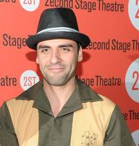 Oscar Isaac at the 23rd Annual Second Stage Theatre All-Star Bowling Classic.