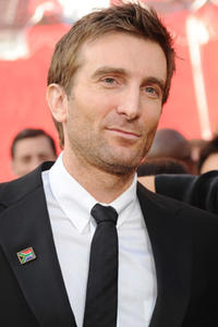 Sharlto Copley at the 82nd Annual Academy Awards.