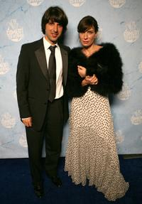 Demetri Martin and Guest at the Comedy Central's 2007 Emmy party.
