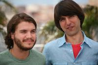 Emile Hirsch and Demetri Martin at the photocall of