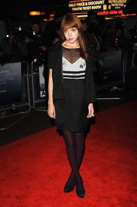Antonia Campbell-Hughes at the premiere of