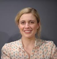 Greta Gerwig at the Apple Store Soho as part of the Meet the Actors series.