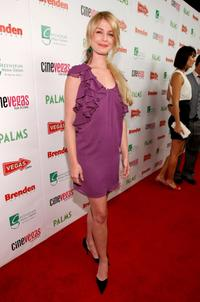 Whitney Able at the red carpet of