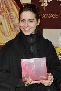 Audrey Dana at the Cesars Gift Lounge.