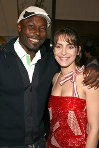 Jimmy Jean-Louis and Audrey Dana at the 12th Annual City of Lights, City of Angels French Film Festival.