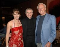 Audrey Dana, Claude Lelouch and Samuel Goldwyn Jr. at the 12th Annual City of Lights, City of Angels French Film Festival.