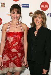 Audrey Dana and Nancy Meyers at the 12th Annual City of Lights, City of Angels French Film Festival.