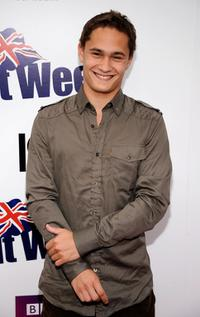 Rafi Gavron at the Champagne Launch of BritWeek 2009.