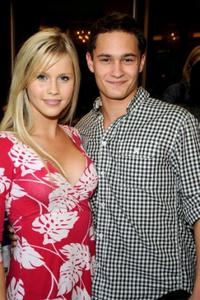 Claire Holt and Rafi Gavron at the U.K. Film Council U.S. Post Oscars Brunch.