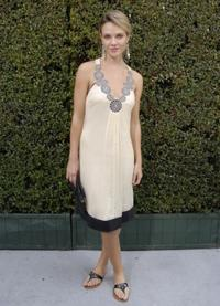 Beau Garrett at the Couture Cares: A Benefit for Breast Cancer featuring an outdoor runway presentation of the Nina Ricci Spring / Summer 2008 collection.