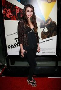 Hannah Marks at the premiere of