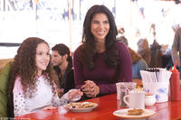 Madison Pettis and Roselyn Sanchez in