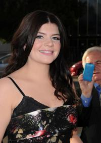 Casey Wilson at the premiere of