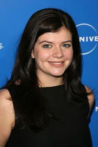 Casey Wilson at the NBC Universal Experience.