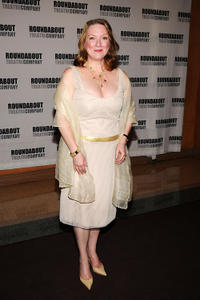 Kristine Nielsen at the after party of the opening night of