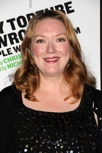 Kristine Nielsen at the off-broadway opening night of