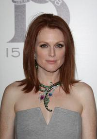 Julianne Moore at the 150th Anniversary dinner of Boucheron.