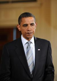 Barack Obama at the economy and comprehensive plan for financial regulations.