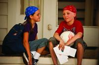 Bailee Madison as Samantha Perryfield and Tanner Maguire as Tyler Doherty in