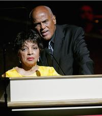 Harry Belafonte and Ruby Dee at the Apollo Theater 2005 Spring Benefit