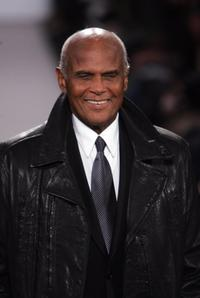 Harry Belafonte at the Kenneth Cole Fall 2005 show during Olympus Fashion Week.