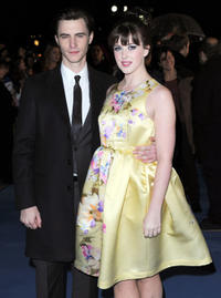Harry Lloyd and Alexandra Roach at the European premiere of