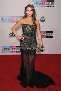 Julianne Hough at the 2010 American Music Awards.